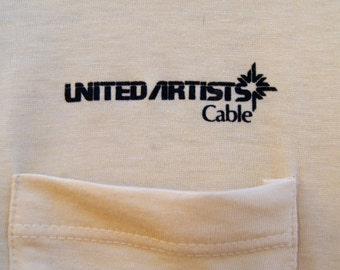 Vintage United Artists Cable Polo Shirt with Stedman Label