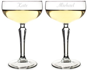 Popular items for champagne coupe on etsy - Coupe de champagne mariage ...