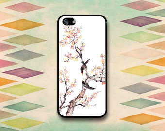Two Birds On A Branch Case: iPhone 4 // 4s, 5c or 5 // 5s