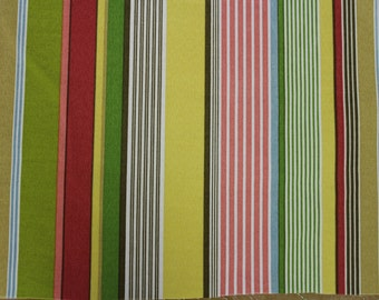 Multicolor Stripe Pattern - Fabric by the Yard 018
