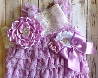 Lavender Petti Romper