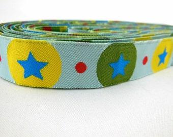Star Jacquard Trim 5/8''