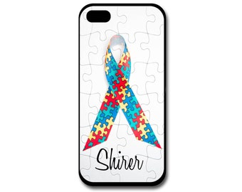 Autism Awareness Phone Case, Autism, iPhone Case, Samsung Phone Case, Autism Ribbon, Autism Puzzle, Samsung Note