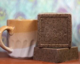 Exfoliating Coffee Soap Bar