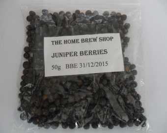 dried juniper berries homebrewing 50g