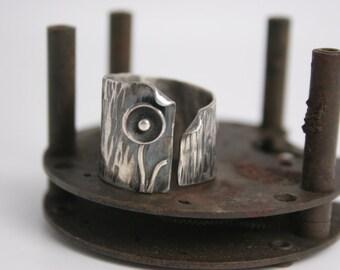 Sterling Silver Ring - Handmade - Modern