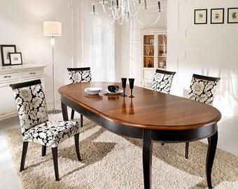 Extendable Oval Table Fantasie Veneziane