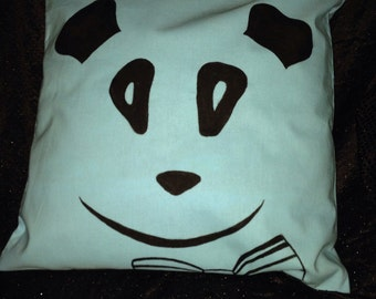 panda bow tie etsy