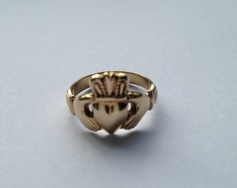 Fede or Gimmel or Claddagh Irish Wedding Ring