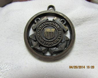 Vintage Coast Guard Pendant