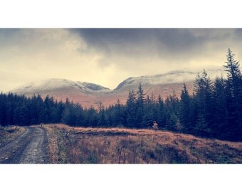 Beinn Dorain And Beinn An Dòthaidh Over Bridge Of Orchy, original fine art photography, print, highland, landscape, 8x12, mountain, scotland