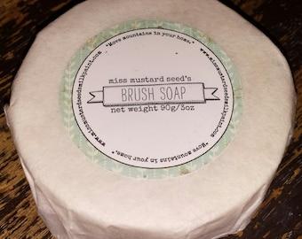 Miss Mustard Seed's Brush Soap