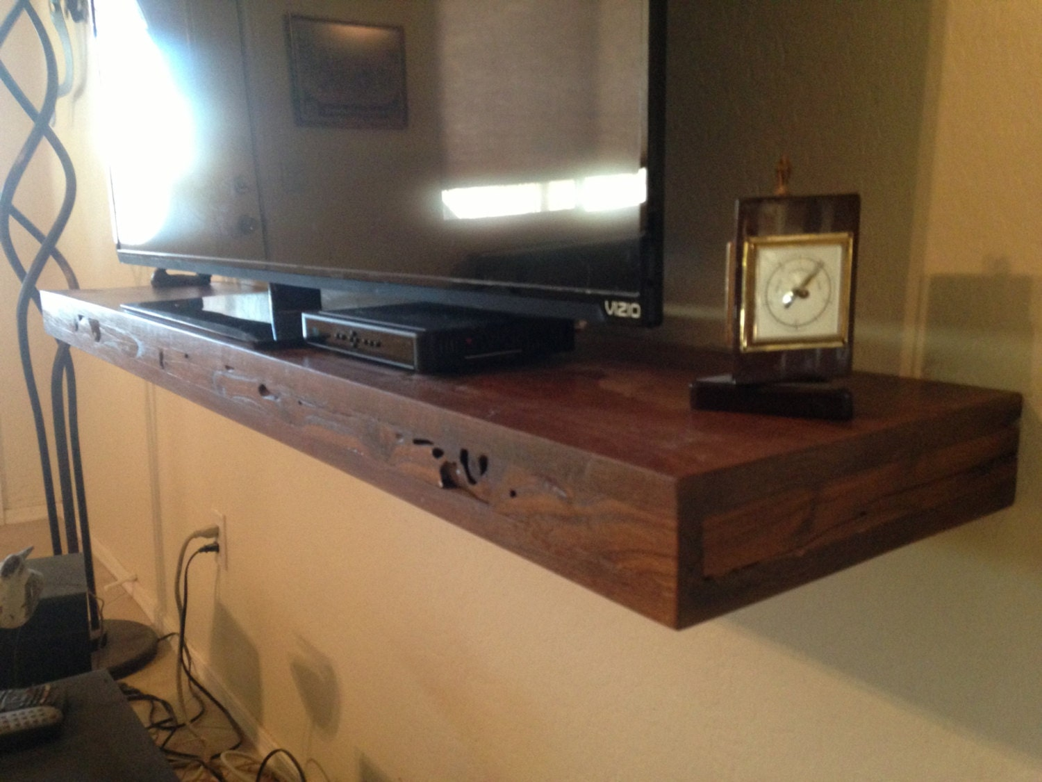 Media Shelf60 Inch Deep Floating Shelf Floating By