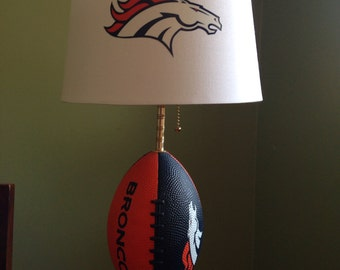 Denver Broncos football Lamp