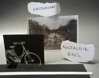 """Dutch - """"nostalgie"""" - decorative object for the desk - dutch bike - """"vintage"""" 3D view"""