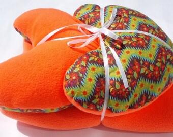 Mastectomy Gift Set of Mastectomy Pillows and Blanket Mastectomy Gift Idea Dancing Flowers