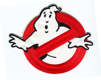 Ghostbusters 1 No Ghost symbol Iron On Patch