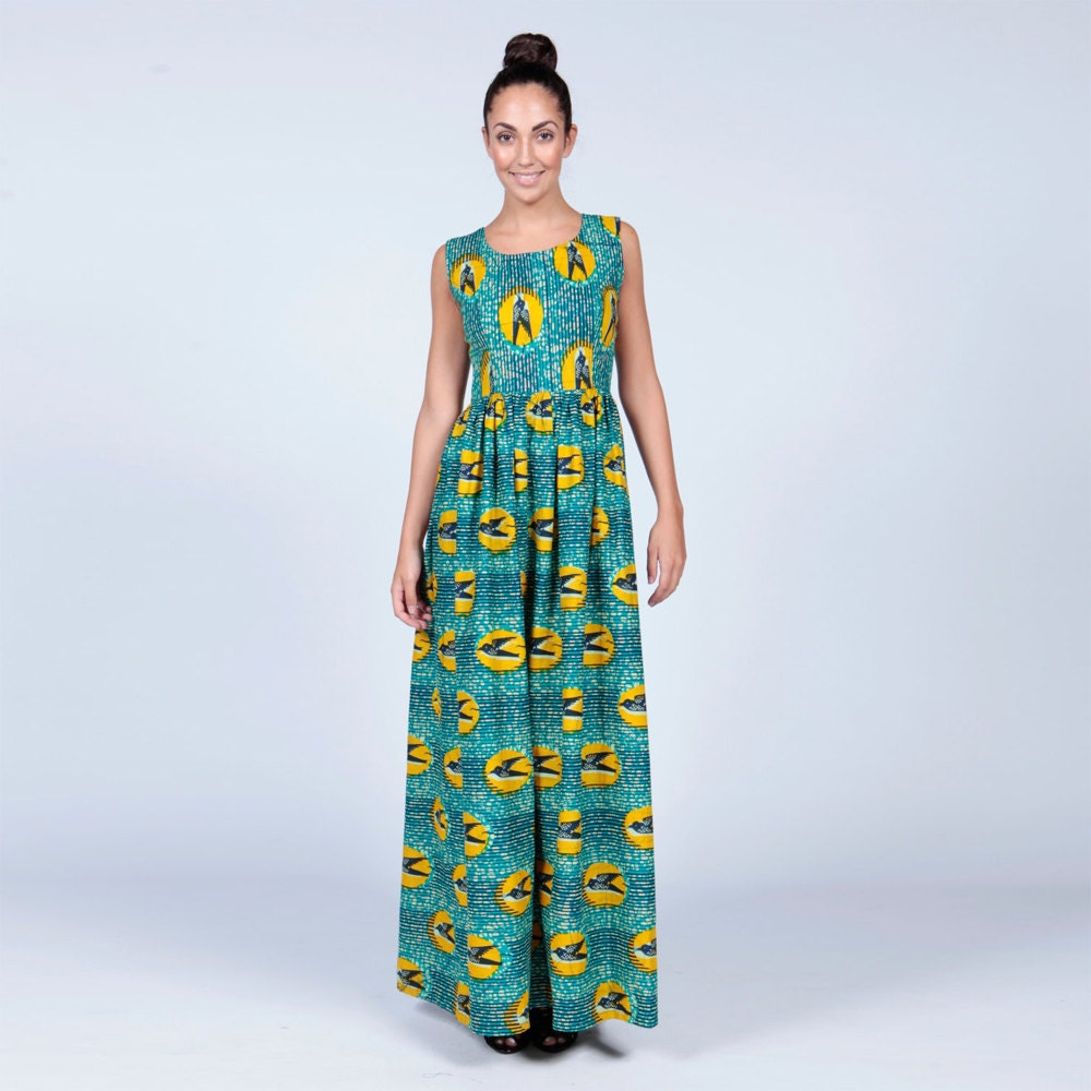 wax print dresses