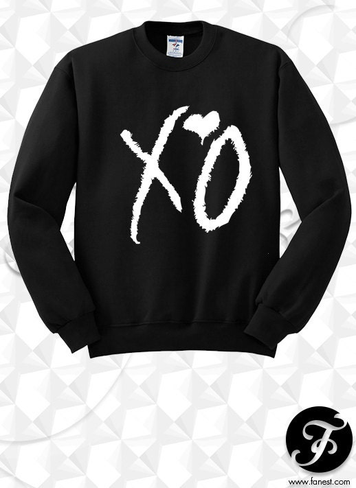 xo the weeknd sweater the weeknd clothing by nrvinyl on etsy