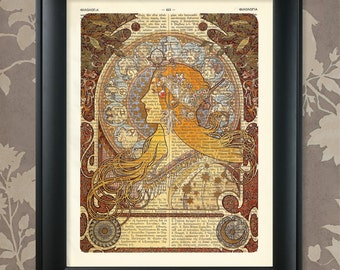 Alphonse Mucha, 1, Alphonse Mucha print, Alphonse Mucha poster, Alphonse Mucha art, Alphonse Mucha decor, Belle Epoque print, Belle Epoque