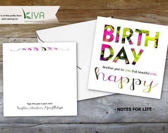 Card - Beautiful Smile Birthday