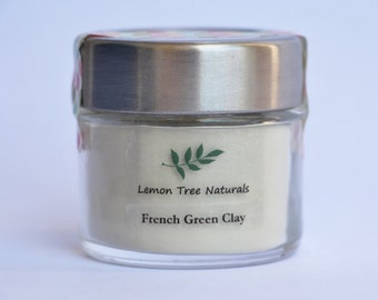 French Green Clay. All skin types face mask