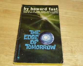 HOWARD FAST The Edge of Tomorrow BOOK Science Fiction 1961