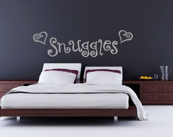 Wall Stickers Above Bed Kamos Sticker - Wall decals above bed