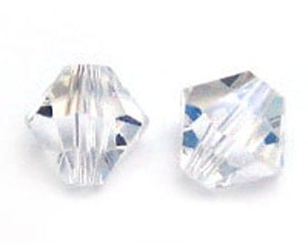 Swarovski 3mm Bicone - Moonlight - Pack 20