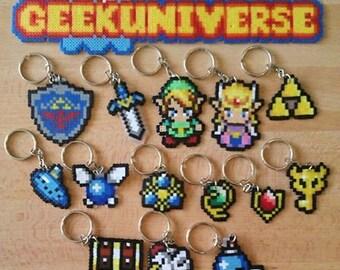 Zelda Ocarina of Time Keyrings Navi Link Pendant Hyrule
