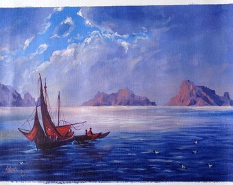 Original painting from Ibiza