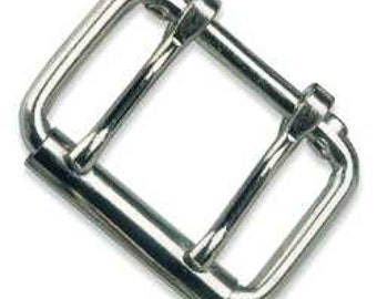 "Roller Buckle Two Prong 2"" (5.1 cm) Nickel Plated 1532-00"