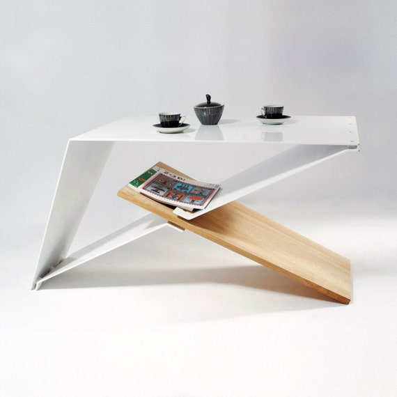 Colorful Modern Coffee Table: Items Op Etsy Die Op Designers Coffe Table, Aluminium And