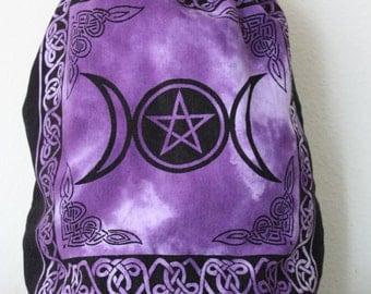 Triple Moon Pentacle Backpack