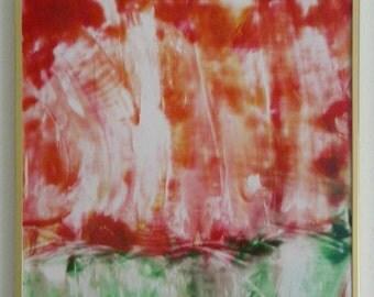 Flow series painting Renewal A2