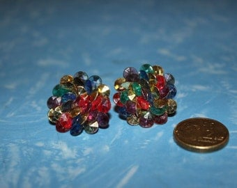 1980s Costume Earrings - Clip On