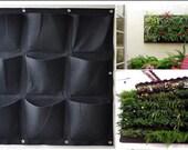 Easy Garden Pocket Hanging Vertical Garden Wall Planter, indoor/outdoor Decoration