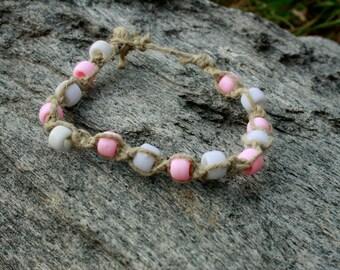 Breast Cancer Awareness Ankle bracelet