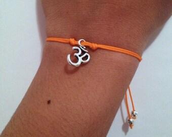 OM charm bracelet