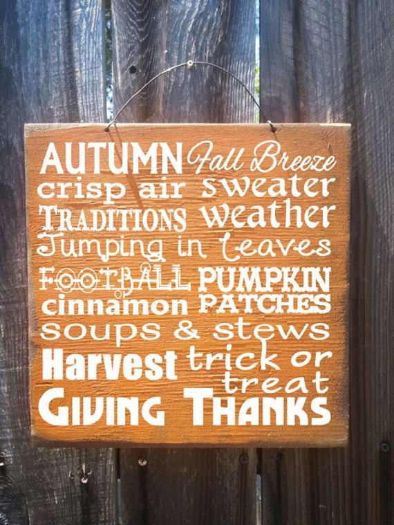 fall decor, fall sign, Autumn Words Sign, Fall Words Sign, Thanksgiving decor, holiday decor, thanksgiving sign, fall sign, 159/162