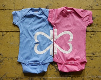 My Twins Are Cuter Twin Side By Side Onesie