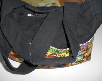 Purse with pockets
