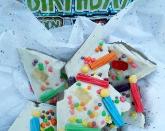 Birthday Cake Milk Chocolate Bark