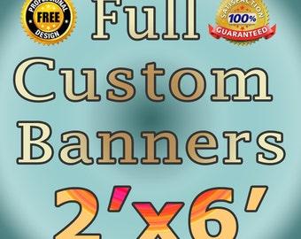 Custom Vinyl Banner X Personalized Vinyl Banner Business - Custom vinyl signs