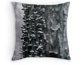 Art Decorative Throw Pillow - Moss in Mist