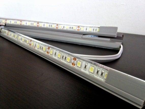 Ikea Schminktisch Schreibtisch ~   personnalisé LED lumineuse pour Ikea Detolf vitrine sur Etsy