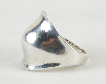 Mid Century Modern Mod Atomic Sterling Silver Ring
