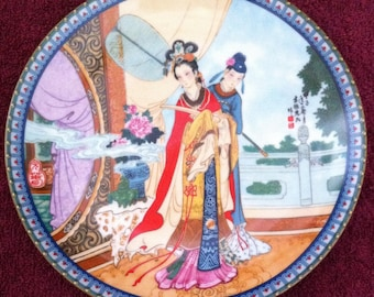 Yuan-chun by Master Artisan Zhao Huimin - Beauties of the Red Mansion Collection