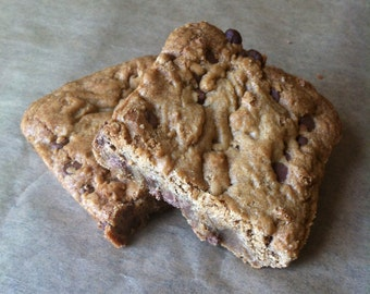 Chocolate Chip Cookie Squares (Box of 4 or 9 squares)