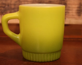 Anchor Hocking Fire King Stackable Cup - Green